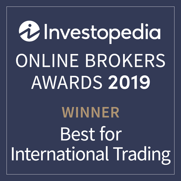 Award Investopedia Best for International Trading