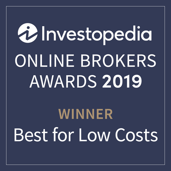 Award Investopedia Best for Low Costs