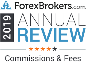 forexbrokers.com 2019 4 stars commissions fees
